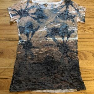 Cache Cotton blend Tee W/ Stones-Small-Mint